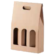 3 Bottle Gable Top Pack